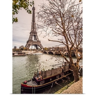 Poster Print entitled Eiffel Tower and Paris in Autumn