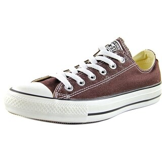 Converse Chuck Taylor All Star Ox Women Round Toe Canvas Brown Sneakers