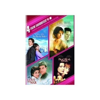 4 FILM FAVORITES-SANDRA BULLOCK (DVD/4 DISC/LAKE H/2 WEEKS/PRACTICAL/IN LOV
