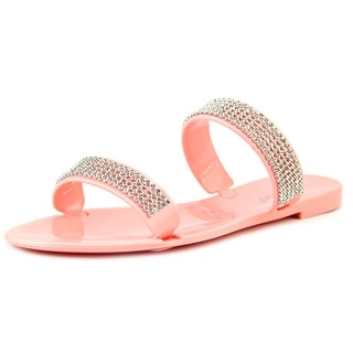 Bamboo Dalia-03 Women Open Toe Synthetic Slides Sandal