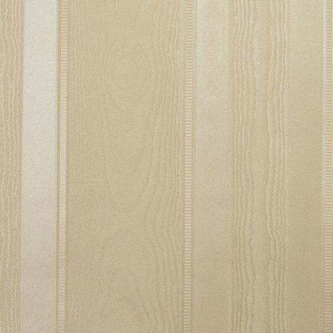 Oro Gold Textured Stripe Wallpaper - 21in x 396in x 0.025in