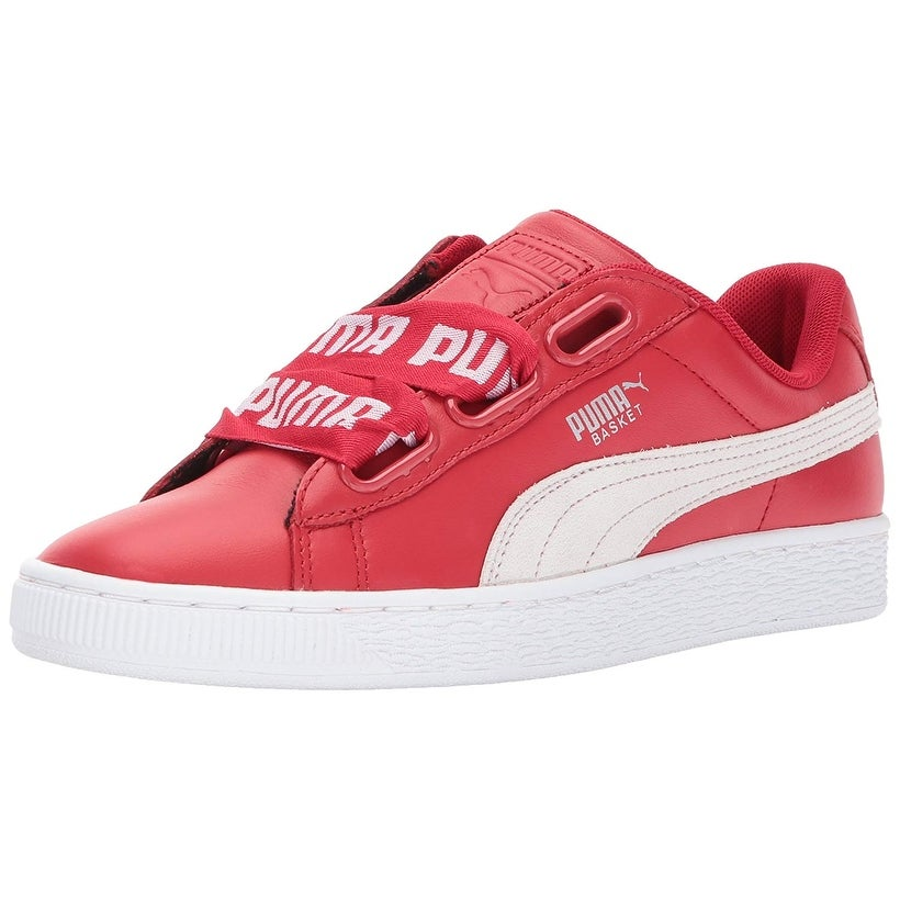 quality design 6802d e46fe PUMA Women's Basket Heart DE Wn Sneaker