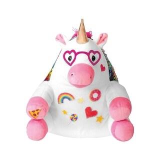 Creativity for Kids Sparkle Unicorn Flip Sequins Sensory Plush Toys - Stuffed Animal - 10 in.