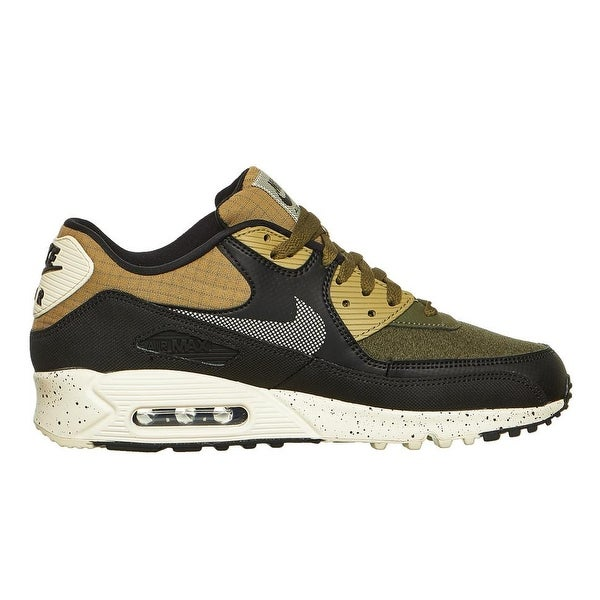 low cost a3463 f3b2e ... Men s Athletic Shoes. Nike Men  x27 s Air Max 90 Premium Neutral  Olive Black (700155