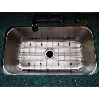Designer Collection 31.5-inch 18-gauge Extra-large Single Bowl Kitchen Sink