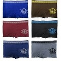 Boys 6 Pack Seamless Eagle Fighter Boxer Briefs - Thumbnail 0
