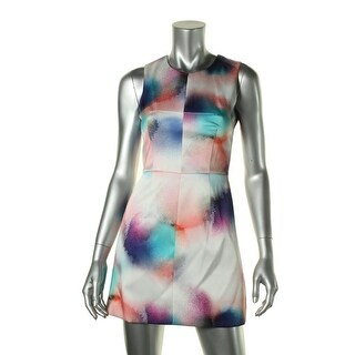 French Connection Womens Mini Sleeveless Party Dress - 8