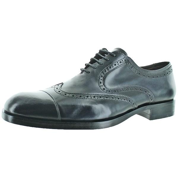 Donald J Pliner Zindel Men's Brogue Oxford Dress Shoes