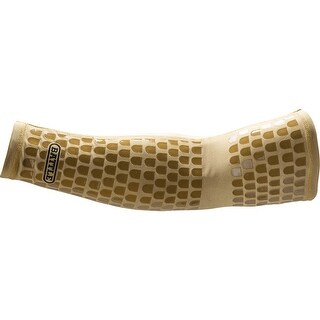 Battle Sports Science Ultra-Stick Football Full Arm Sleeve - Gold