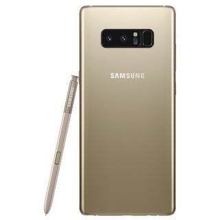 Samsung Galaxy Note8 N950F 64GB Unlocked GSM LTE Android Phone w/ Dual 12 Megapixel Camera - Maple Gold (Certified Refurbished)