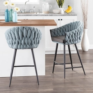 Link to Braided Matisse Vintage Counter Stool Similar Items in Dining Room & Bar Furniture