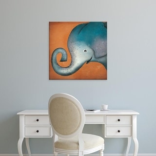 Easy Art Prints Ryan Fowler's 'Elephant Wow' Premium Canvas Art