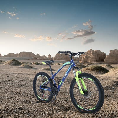 AOOLIVE Mountain Bike with a durable steel frame,20 inch - 10' x 14'