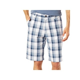 Dockers Mens Casual Shorts Plaid Classic Fit