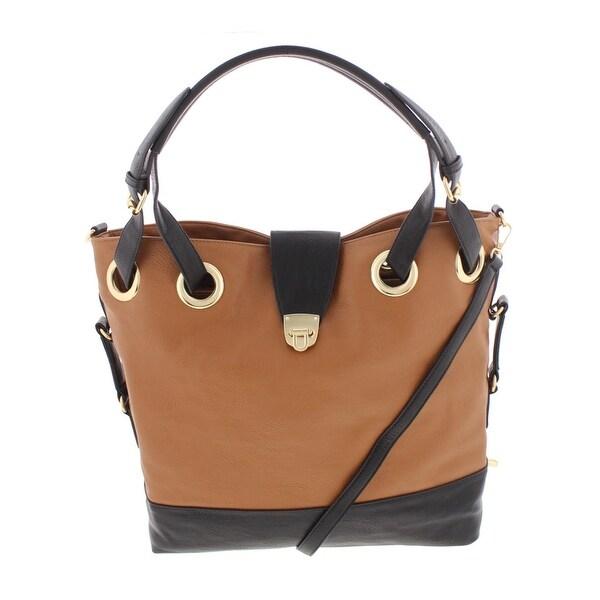 ff9f83073500 Kathy Ireland Womens Tote Handbag Faux Leather Signature - Large ...