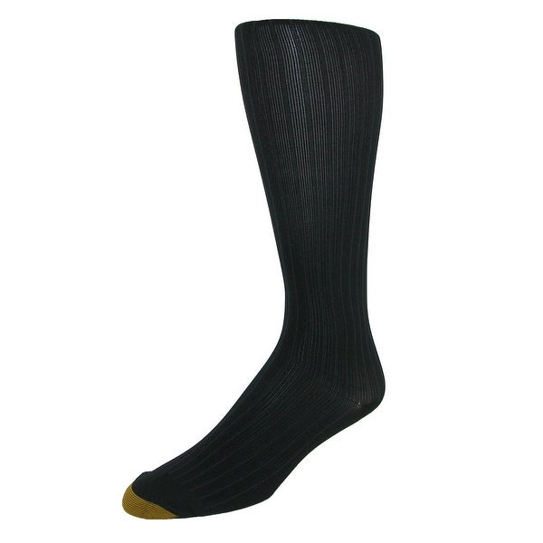 Gold Toe Men's Mild Compression Ribbed Over the Calf Socks