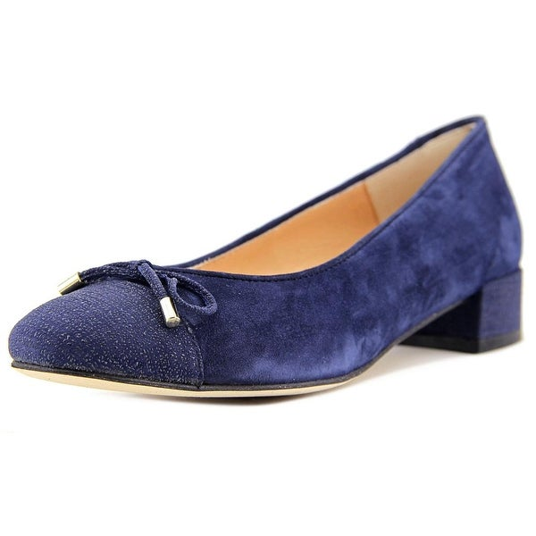 Andre Assous Vera Women Round Toe Suede Flats