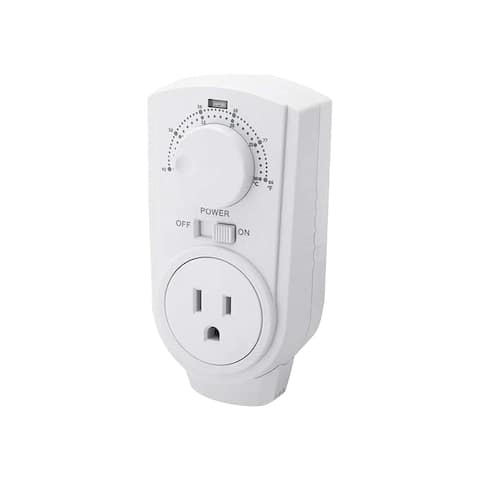 EconoHome Adjustable Thermostat - Plugin Heating & Cooling