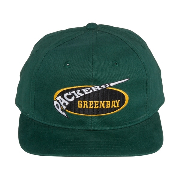 daf3440d712 Shop NFL Retro Green Bay Packers Snapback Hat Cap - Green Black ...