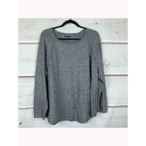 KAREN SCOTT White Long Sleeve T-Shirt Sweater XS