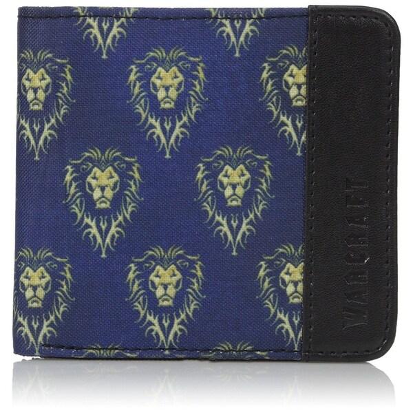 Warcraft Movie Alliance Logo Men's Bifold Wallet - Black