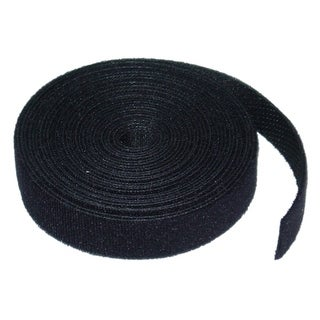 Offex Hook and Loop Cable Tie Roll, 3/4 inch x 5 yards