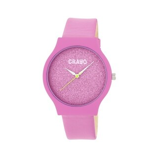 Crayo Glitter Unisex Quartz Watch