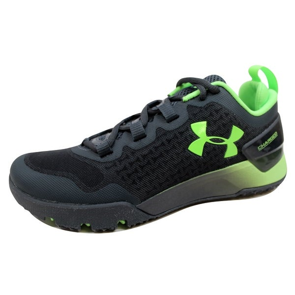 Under Armour Men's Charged Ultimate TR Low Stealth Grey/Hyper Green 1275331-008