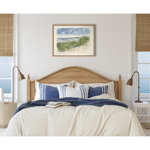 Kate and Laurel Sylvie By The Sea Framed Canvas by Patricia Shaw