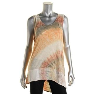 XCVI Womens Modal Sleeveless Pullover Top - S