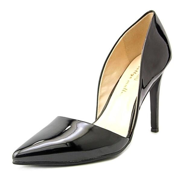 Ann Marino by Bettye Muller April Women Pointed Toe Synthetic Black Heels