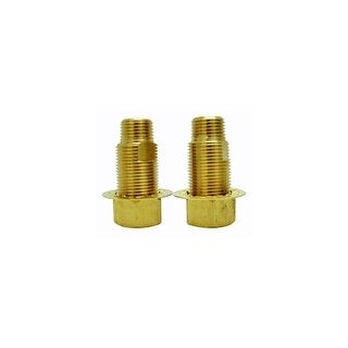 """Elements Of Design ED130-6 Brass Adapter with 1/2"""" -14 NPT and 3/4"""" IPS Connections from the Hot Springs Collection"""