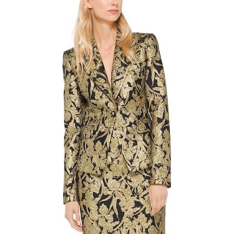 Michael Kors Collection Silk-Blend Blazer