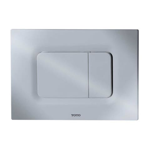 Toto YT920 Dual Button Push Plate for In Wall Tank Systems (DuoFit In-Wall Tanks)