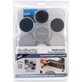 Weathering - Grays; Grime Soot Panpastel Ultra Soft Artist Pastel Set 9Ml 7/Pkg