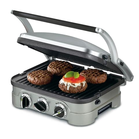 Cuisinart GR-4NP1 Griddler Multifunctional Indoor Grill - 13.50 L x 11.50 W in.