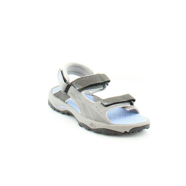 North Face Storm Women's Sandals & Flip Flops Silver Grey/Grapemist Blue