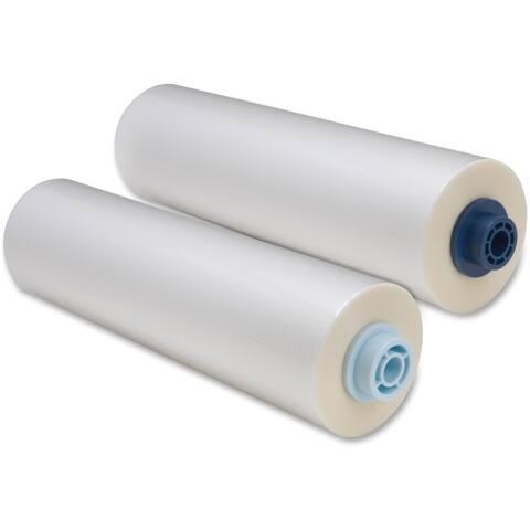 Print finishing solutions 3748201ez gbc pinnacle 27 ezload roll laminating film, nap i, 1.5 mil, 25in x 500ft, 1 box - Clear