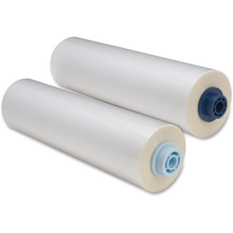 Print finishing solutions 3748204ez gbc heatseal laminating film roll, 3-mm,25-inches x 250-feet, pack of 2 - Clear