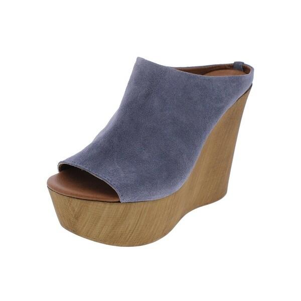 Steve Madden Womens June Wedge Sandals Open Toe Platform