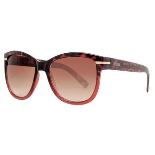 Kenneth Cole Reaction KC1254 56F Women's Tortoise Brown Gradient Sunglasses - tortoise gradient brown - 55mm-17mm-135mm