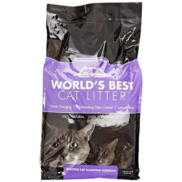 14 lbs Best Cat Litter Multiple Clumping Cat Scent, 3 Count