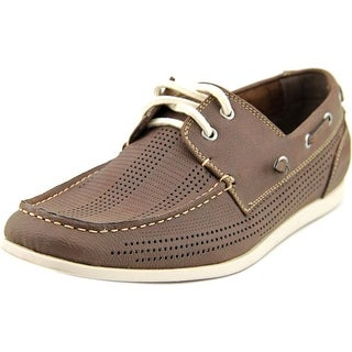 Madden Men Guppi Men  Moc Toe Synthetic Brown Boat Shoe