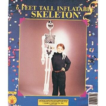 """Inflatable Skeleton 72"""" Costume Halloween Prop"""