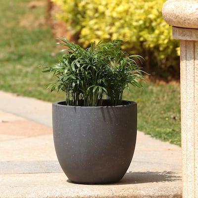 Round Indoor/Outdoor MgO Planter