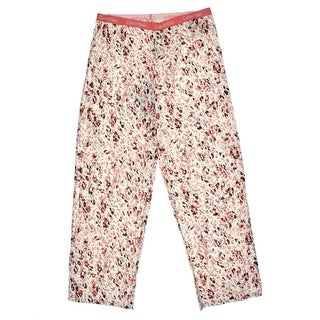 Calvin Klein Womens Cotton Pattern Sleep Pant - L