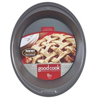 Good Cook 04035 Premium Bakeware Pie Pan, Non Stick, 9"