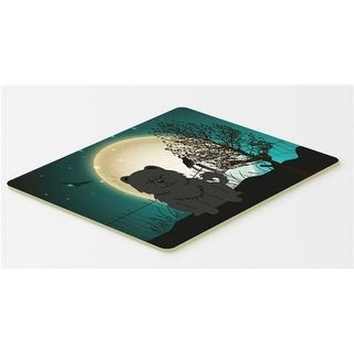 Carolines Treasures BB2333CMT Halloween Scary Chow Chow Black Kitchen or Bath Mat 20 x 30