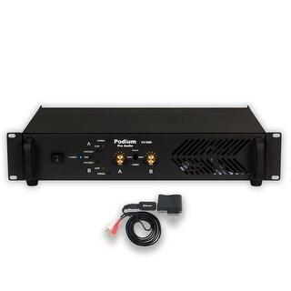 Podium Pro VX1000 Power Amplifier with Bluetooth 2 Channel 1000 Watt PA DJ Band Amp VX1000B