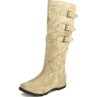 Wanted Womens Sadler Knee High Boots